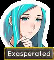 Exasperated